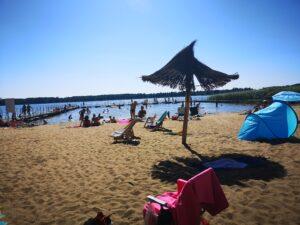 Plaża w Trzech Jeziorach